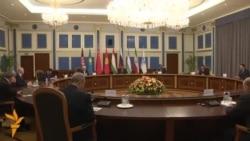 Президент Таджикистана на встрече с главами МВД стран-членов ШОС
