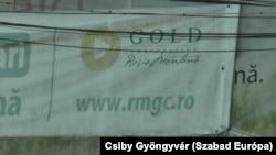 A Roşia Montană Gold Corporation (RMGC) molinója Verespatakon, 2021. július 9-én
