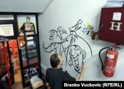 Milivoj Kostić, akademski slikar, prvi 3D umetnik u Srbiji, pred publikom je crtao Taličnog Toma