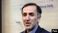 Iran--Iran's Deputy Minister of Industry, Mines, and Trade Hamid Zadboom