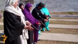 Pakistani Women Teachers Receive Firearms Training