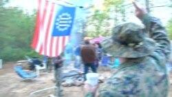 Американские ополченцы готовятся отстаивать свой выбор с оружием в руках