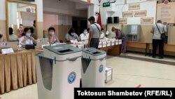 Повторные выборы в местные кенеши, Бишкек. 11 июля 2021 г.