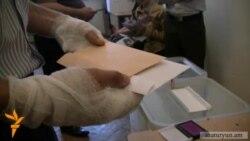 20-ամյա տուժածը քվեարկեց վիրակապերով