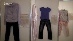 """""""Nu dați vina pe haine"""" - o expoziție dedicată victimelor violenței sexuale"""