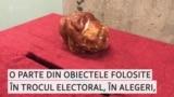 Galeria trocului electoral: o expoziție a obiectelor mitei electorale