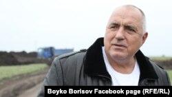 премиерот на Бугарија Бојко Борисов