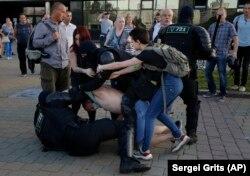 Задержания на протестах, Минск, 10 августа 2020 года