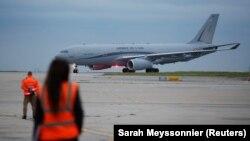 تصویری از فرودگاه کابل