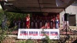 «Розпрягайте хлопці коней»: на фестивале национальной кухни в Севастополе спели украинские песни (видео)