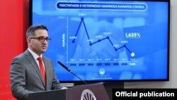 Министерот за финансии Фатмир Бесими