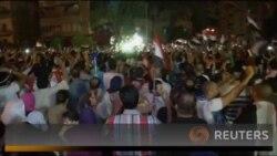 Опоненти Мурсі святкують після рішення військових про відсторонення президента