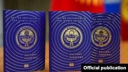 Жалпы жарандык биометрикалык паспорттун жаңы дизайны.