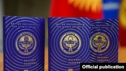 Жаңы үлгүдөгү жалпы жарандык паспорт.