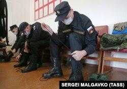Первый день крымского призывника на российской военной службе, апрель 2021 года