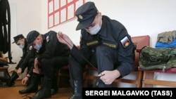 Militari ruși în Sevastopol, 15 aprilie 2021