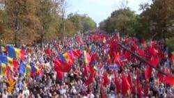 28.09.2015 Протест во Кишињев, пожар во Душанбе