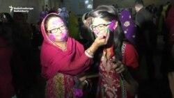 Pakistani Hindus Celebrate Holi