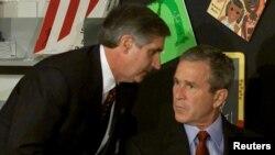 Президент идарәсе башлыгы Джордж Бушка һөҗүм турында хәбәр итә