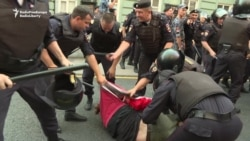 Pension Protests In Russia Prompt Violent Crackdown