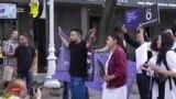 Алматы жастарының маршы қалай өтті?