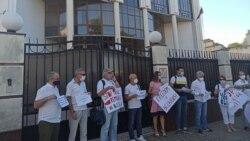 """""""Libertate pentru Belarus!"""" Societatea civilă din R. Moldova protestează față de agresiunile împotriva opoziției din Belarus"""