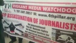 په پاکستان کې له ولسه د وینا حق اخیستل شوی دی: خبریالان