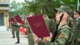 Recruți în Tiraspol