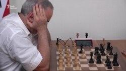 Критик Кремля Гаррі Каспаров ненадовго повернувся у шахи (відео)