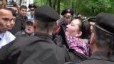 Задержания в Алматы