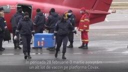 Republica Moldova a primit primul lot de vaccin anti-Covid din România (VIDEO)