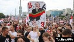 بلاروس کې اعتراض کوونکي