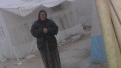 Патимат Рамазанова в сирийском лагере для беженцев