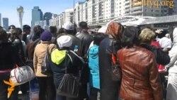 Наразы борышкерлер Астанаға барды