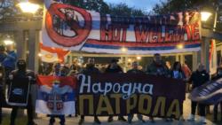Skup desničara i kontraskup levičara zbog migranata u Beogradu