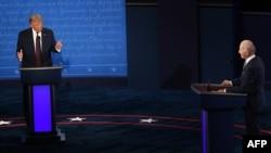 نخستین مناظره نامزدهای انتخابات ریاست جمهوری آمریکا در سال ۲۰۲۰ در کلیولند در ایالت اوهایو برگزار شد.