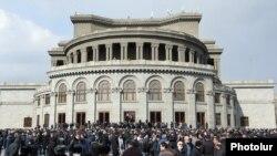Площадь Свободы в Ереване
