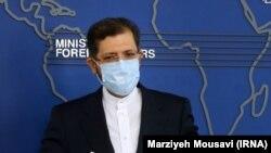 Официальный представитель МИД Ирана Саид Хатибзаде (архив)