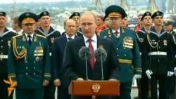 "Putin ýarymadanyň ""watana"" dolanmagyny dabaralandyrýar"