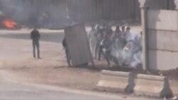 اشتباكات عشية ذكرى ثورة 25 يناير