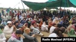 اعتراضهای در منطقه جانی خیل ایالت خیبرپشتونخواه در پاکستان