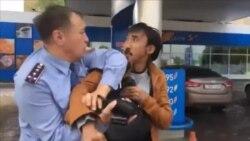 Белсенді Біләловті полиция ұстамақ болған сәт