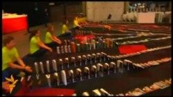 Новий світовий рекорд найдовшого доміно-ланцюжка з книжок