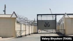 Термез находится на границе с Афганистаном