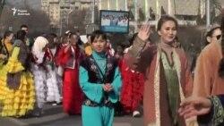 Массовое шествие «Наурыз» в Алматы: как это было