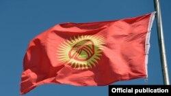 Кыргызстандын желеги.