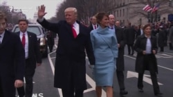 Trump Leads Inaugural Parade Through Washington
