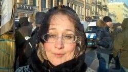 Митинг протеста в Петербурге