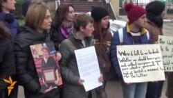 10.12.2014 Протести во Скопје, Белград, Кишињев, Тбилиси