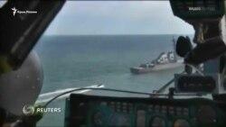 Черное море: российские военные начали учения параллельно с «Си Бризом» (видео)